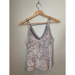 American Eagle Velour Top